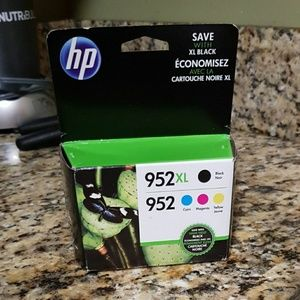 Original HP 952 XL Black and 952 colored ink